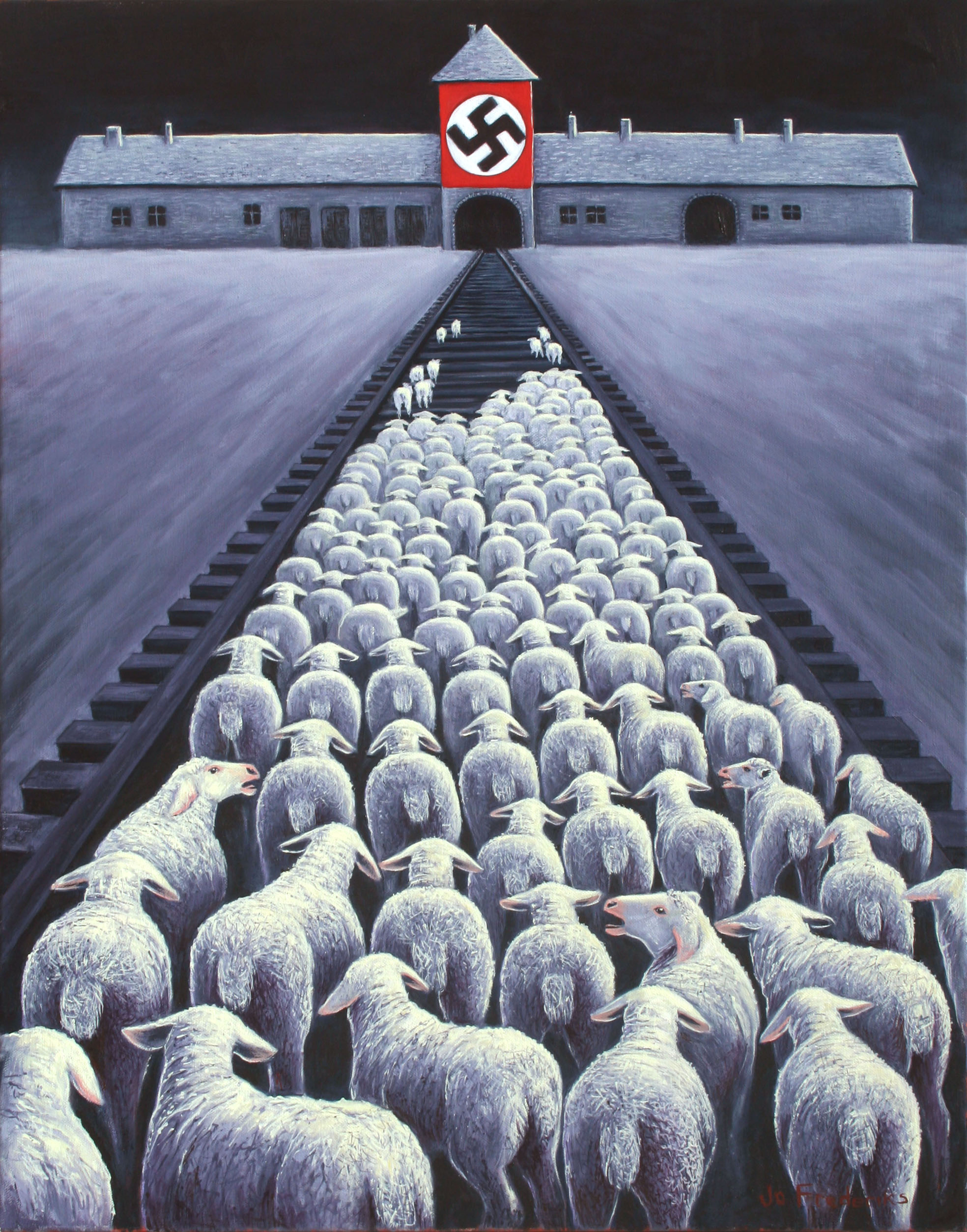 Jo Frederiks - Animal Rights Art